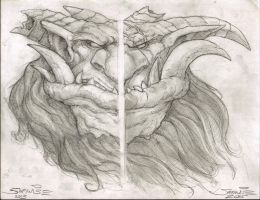 Left hand vs. Right hand by SamwiseDidier
