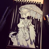 Day 6 - Umbrella by MissMaddyTaylor