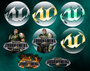 Unreal tournament 2003 Icons by tracertong