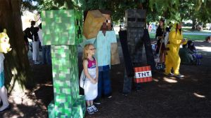 Minecraft cosplay by DevinShadowV