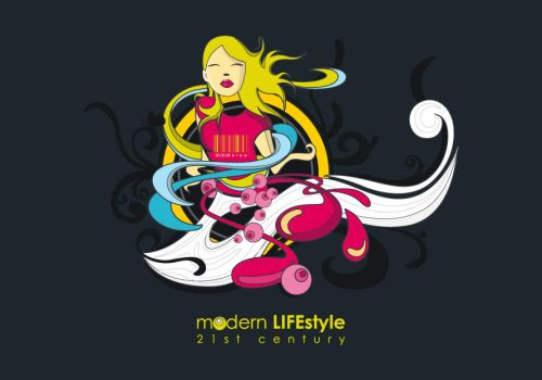 modern life by etee