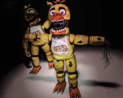 Withered Chica by Capt4inTeen79