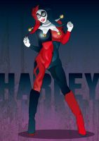 FanArt Harley-Quinn Beauty by solterbeck65