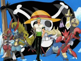 Zoro's Pokemon by magmon47