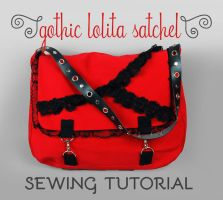 Sewing Tutorial: The Gothic Lolita Satchel by SewDesuNe