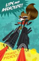 RocketRaccoon by Haaspodge
