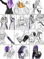 Tali dressing up by spaceMAXmarine
