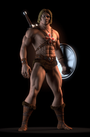 MOTU - He-Man Variations - GIF by paulrich