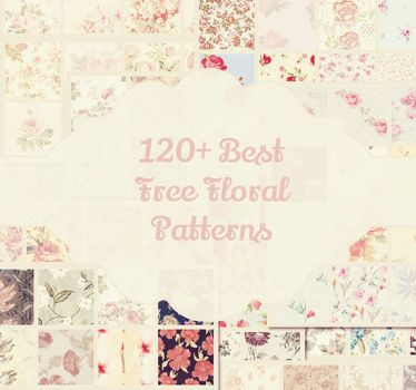120+ Best Free Floral Patterns by Textuts