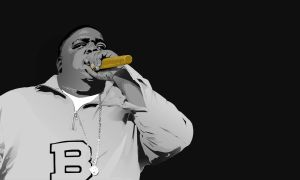 R.I.P B.I.G by turnpaper
