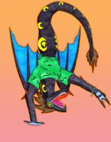 Its Fun Being A Wyvern by dh9
