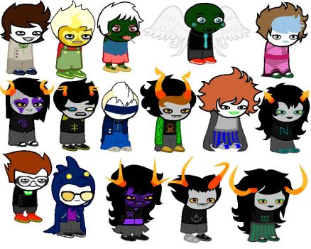 A ton of Homestuck ocs 1 by GMQUilmataalpha