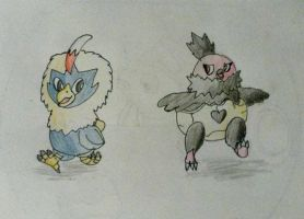 Rufflet and vullaby