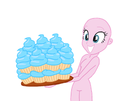 pinkie pie base by sapphirecharming