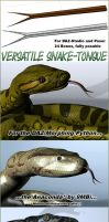 Snake-Tongue for Poser/DAZ-Studio by ancestorsrelic