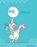 Hiraeth Creature #717 - Molbi-Oira by Cosmopoliturtle