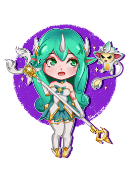 Soraka Star Guardian by AlmaGKrueger