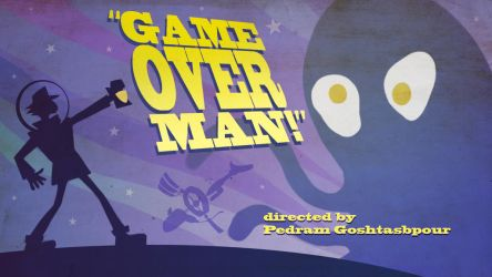 gameOverMan title by Dominic-Marco