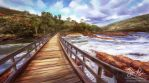 Virtual Plein Air: Bells Rapids by Risachantag
