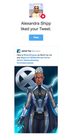Storm Likes My Art! by JamieFayX