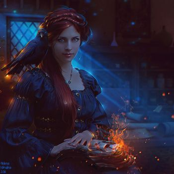 Dark Witch + Video by Nikulina-Helena