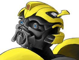Bumblebee - WIP by nightsail