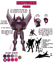 Transformers Prime: Rubywing by StarryTiger