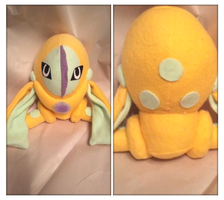 mock shiny deoxys pokedoll by LRK-Creations