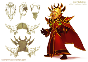 Kael'Thas Cosplay Concept Art by Katmomma