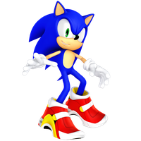 Sonic with Soap Shoes Rendera by JaysonJeanChannel