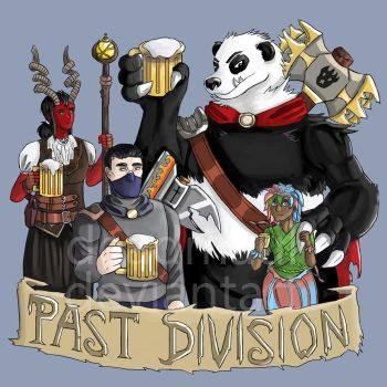 (Commission) PastDivision podcast cover by DeadMaul
