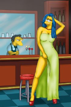 Marge By The Bar by JLaoHu