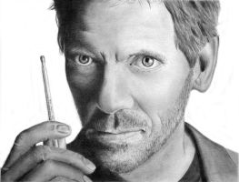 Hugh Laurie by AWO128