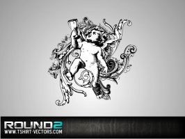 Ornate Angel Vector by Enigma-Design