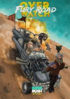 Overwatch: Fury Road by DirkPower