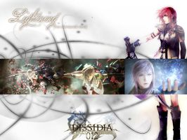 Dissidia Duodecim-Lightning by The-m00nriver