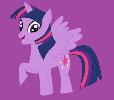 My Little Pony FIM - Twilight Sparkle by MiraculousLover22
