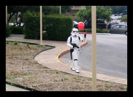 Stormtrooper and the Balloon by Darkside0326