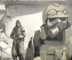 Fallout Soldiers by uknown-deadspace