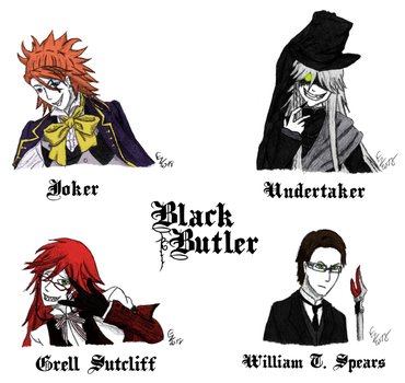 Favorite anime characters - Black Butler by ReineHela