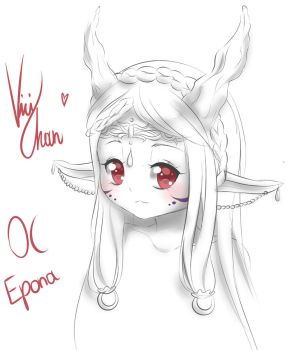 OC Epona (2016) by ViciChan