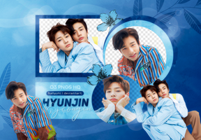 PNG PACK: Hyunjin and Jeongin by Hallyumi