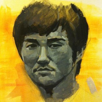 Bruce Lee by Kamninetynine