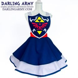 Master Shield Legend of Zelda Cosplay Pinafore by DarlingArmy