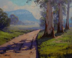 Valley Road by artsaus