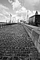 along the cobbles by awjay