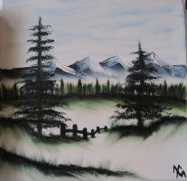 Bob Ross Workshop by Melo-Death