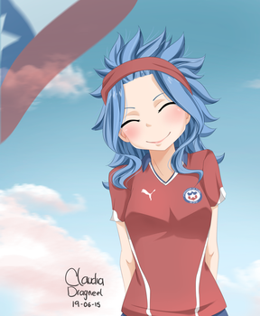 Levy -Chile- by claudiadragneel