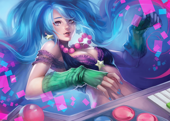 LoL: Arcade Sona by ippus