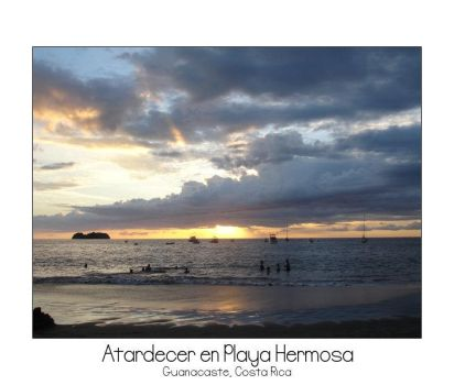 Atardecer en Playa Hermosa by 405
